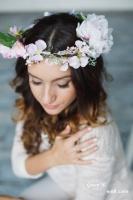 Віночок «Мікс весняних квітів»