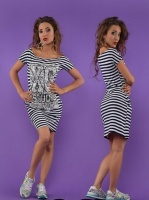 Платье летнее полоска ХС (23)