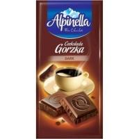 Шоколад Альпинелла черный 90г
