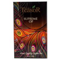 Чай TeaSor OP Суприм черный крупный лист 100 грам