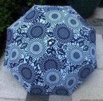 Зонты полуавтоматы Разноцветные