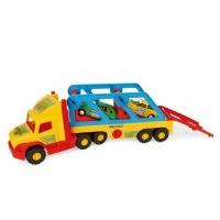 Игрушечный эвакуатор «Super Truck» с авто-купе Wader 36640