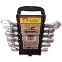 Сталь 48001 Набор комбинированных ключей 6 шт