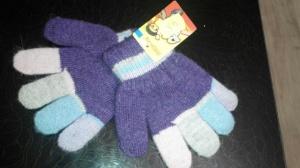 Шерстяные перчаточки, 3-5 лет