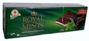 Мятный шоколад ROYAL MINTS 300 грамм - пластинами