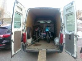 Перевезти мотоцикл по Киеву