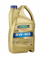 Моторное масло RAVENOL VSI SAE 5W-40 (канистра 4 л)