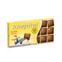 шоколад Schogetten for Kids with milk 100г.