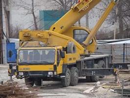 Услуги автокрана г/п 65тонн, длина стрелы 42м в Крыму