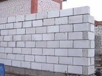 Кладка стен из газо-, пеноблока