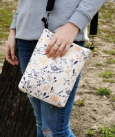 Модная сумка через плечо «Паттерн птички»