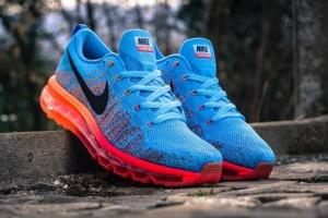 Nike Air Max Flyknit 2014 blue