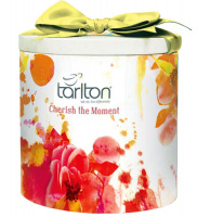 Чай черный Тарлтон Удача Пекое 100 г жб бантик Tarlton Pekoe Cherish the Moment