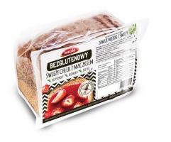 Безглютеновый свежий хлеб с маком на закваске