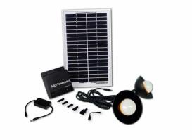 Портативный комплект освещения BSS-00508LB на солнечных батареях