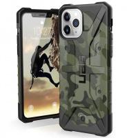 Ударопрочный чехол UAG Pathfinder камуфляж для Apple iPhone 11 Pro Max (6.5«) Зеленый