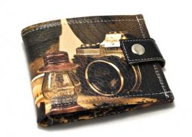 Ретро кошелек «Будни фотографа»