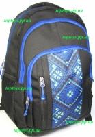 Рюкзак ранец школьный, городской, для средней и старшей школы, студента. Национальный стиль