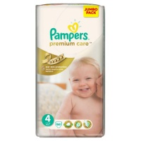 Подгузники Pampers Premium Care 4 (7-14 кг) 66 шт