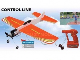 Самолет кордовый ZT Model Basic Plane 410мм с электромотором