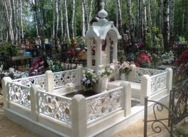 Мраморный памятник №20