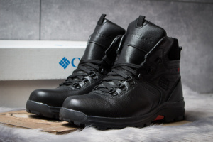 Зимние ботинки на меху Columbia Chinook Boot WP, черные (30551),  [  41 42 43 44 45  ]