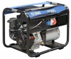 Генератор бензиновый SDMO Technic 7500 T 6,5 кВт трехфазный