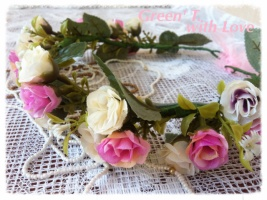 Віночок «Квіти, як люди, на добро щедрі і ніжні по натурі.»