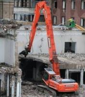 Снос зданий в Киеве, демонтаж стен Киев, демонтажные работы, демонтаж цена