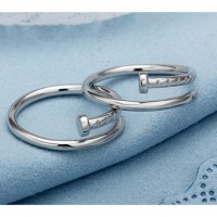 Кольцо в форме гвоздя. Унисекс покрытие серебром