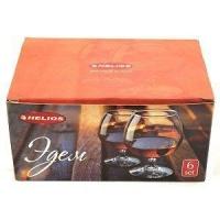 Набор бокалов для коньяка Эдем -6шт-250гр
