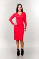 Платье 7101 красный