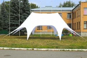 Шатер Звезда-2 10х15м Двухмачтовая палатка для отдыха, по Украине