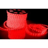 Светодиодный шнур Дюра лайт LED 2W -100-240V (36 led/m) Красный