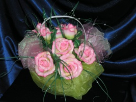 Свечи - цветы