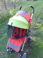 Двойной солнцезащитный кап для коляски
