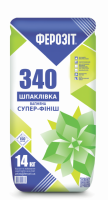 Шпаклівка вапняна супер фініш Ферозіт 340 Штук 3 /14кг