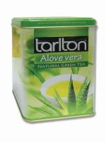 Чай зеленый Тарлтон Алое Вера 250 г жб Tarlton green tea Alove Vera