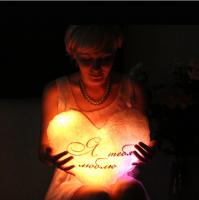 Светодиодная подушка «Я тебя люблю»
