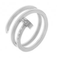 Кольцо из стали КС-1489 Реплика Cartier