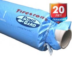 Бутилкаучуковая пленка Firestone EPDM Pond Liner США для пруда и водоема