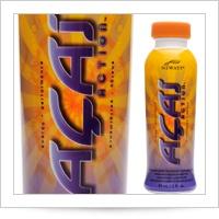 Acai Action®(Асаи Экшен) 1шт 90мл - энергетический напиток на основе сока асаи