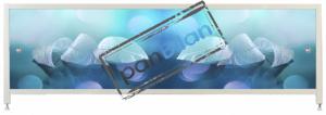 Экран под ванну Пан Билан - АРТ 150см. Листочки