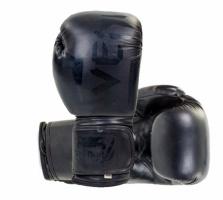 Перчатки боксерские кожаные VENUM Challendger black 10,12 oz