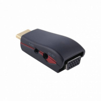 HDMI в VGA конвертер c дополнительным питанием и звуком