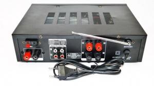 Усилитель MAX AV-313BT + Караоке 2 микрофона