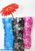 Вазы декоративные складные пластиковые для срезанных цветов