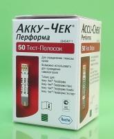 Тест-полоски Акку-Чек Перформа (Accu-Chek Performa) № 50