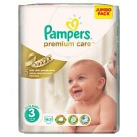 Подгузники Pampers Premium Care 3 (4-9 кг) 80 шт