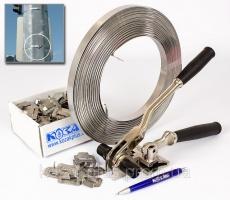 Набор НС-16 для монтажа лентой из нержавеющей стали